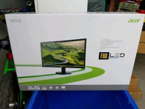 """Acer 24""""  led monitor"""