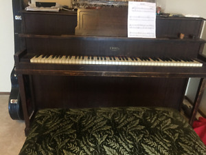 Piano and Bench Free