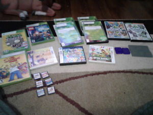Games for sale: Xbox 360, DS and computer