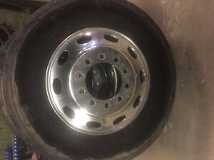 "Peterbilt 24.5"" durabright Alcoa rims"