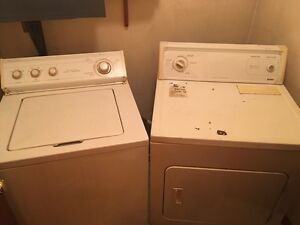 Washer and dryer!