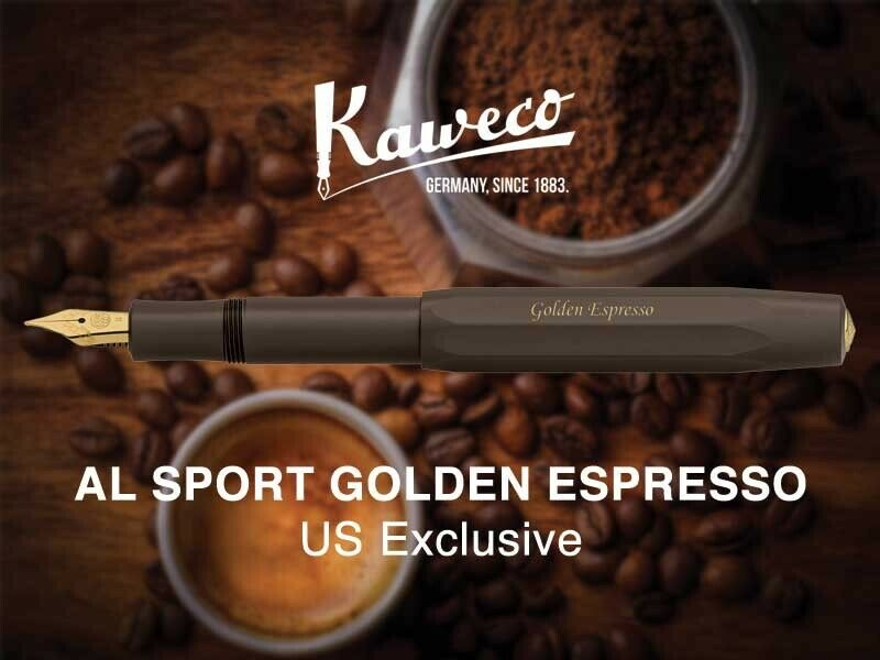 kaweco golden expresso fountain U.S. Exlusive Limited to 700 pieces Brand NEw.
