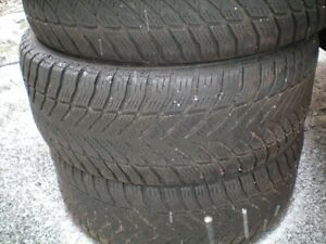 THREE Good Year Eagle ultra Grip Tires