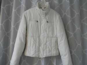 manteau hiver Chaud,grd.Small 6 ans Blanc excl. condition