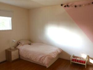Appartement 5 1/2  rez de chaussé + sous sol à louer Sorel-Tracy