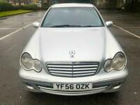 2006 56 Silver Mercedes C200Cdi Avantgarde Diesel Automatic Low Miles! 65+ MPG
