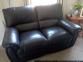 Excellent 2 seater double recliner sofa
