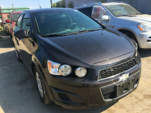 2014 Chev Sonic LT just in for sale at Pic N Save!
