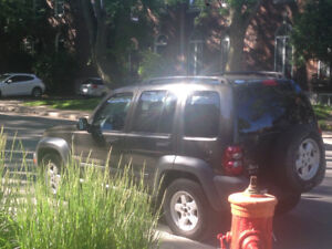 JEEP LIBERTY 2005 - 149 000 Km ! Aubaine