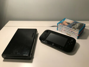 Wii U 32gb with Games