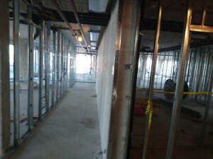 Drywall steel stud framing and insulation services