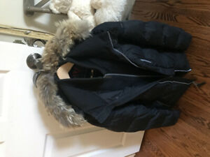 100% Authentic Andrew Marc Parka. Real Fox Fur