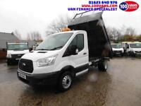 FORD TRANSIT 2.2TDCI T350 TIPPER WITH LOW MILES AND FULL SERVICE HISTORY