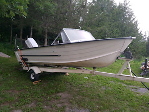 Starcraft / aluminium boat / 16ft & trailer