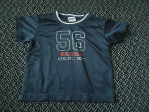Boys Size 4 Blue Football Jersey by OshKosh B'gosh