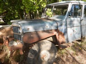 1960 Willys 4x4 Wagon
