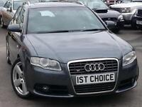2007 AUDI S4 S4 QUATTRO ESTATE A FANTASTIC LOOKING VEHICLE WITH A GREAT HIST