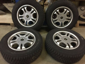 Snow Tires AND Wheels 235/65R17 108S tires
