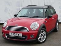 2012 MINI CLUBMAN 1.6 COOPER D DIESEL BLACK LEATHER HEATED SPORTS SEATS BOTH USB