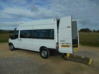 2013 FORD TRANSIT 350 15 SEAT WHEELCHAIR ACCESSIBLE DISABLED MOBILITY MINIBUS