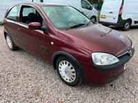 2002 Vauxhall Corsa 1.2i 16V Comfort 3dr Easytronic automatic HATCHBACK Petrol