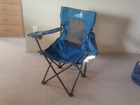 $8 Open box but never used portable outdoor foldable chair