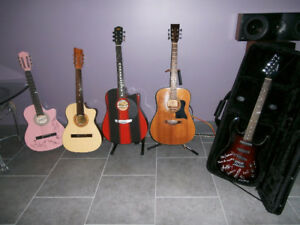 Selling guitar collection