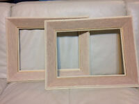 ANTIQUE wood frames