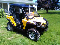 (Reduced needed gone moving out west)CAN-AM  Commander XT 1000