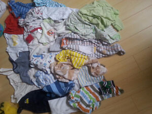 boy items/clothing 0-12m more than 50 pieces