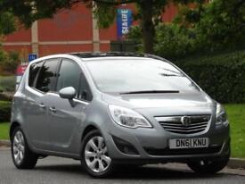 Vauxhall Meriva 1.4 16v a/c 2011 SE..PAN ROOF + PARKING SENSORS + WARRANTY