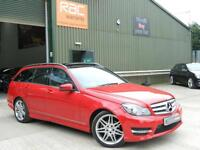 2013 MERCEDES C-CLASS C250 CDI BLUEEFFICIENCY AMG SPORT PLUS ESTATE DIESEL