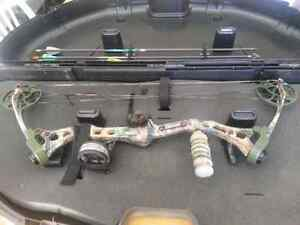 Bear Compound Bow camouflage