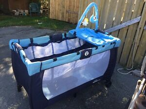 Travel Cot  and Stroller