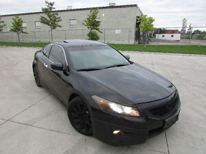 ☆ 2009 HONDA ACCORD COUPE ☆ *6 SPEED,LEATHER,SUNROOF,NAVIGATION*