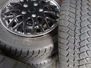4rim+pneu hiver+cap de roue