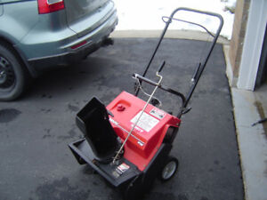 Snow thrower Murray 20""
