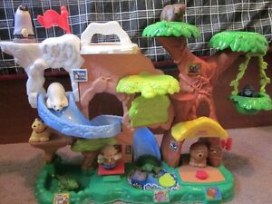 FP Little People Zoo Talkers Animal Sounds Zoo with Safari Truck