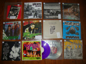 Lots of New 90's and 2000 Vinyl LP Records from a Collection