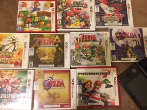 Nintendo 3ds, charger   games