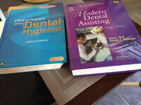 Dental assistant and dental hygiene text books