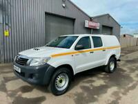 2016 (66) Toyota Hilux Active 2.5D-4D Double Cab 4x4 *CANOPY * LINER * TOW BAR