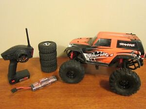 Modified 4WD Telluride 1/10 RC Truck with Options - Exc. Cond.