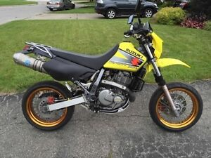 Dr650 supermoto (built bike)