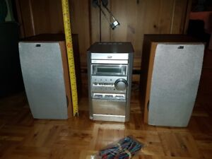 Chaine Stereo JVC FS-J60 HI FI system comme NEUF