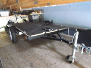 Utility/motorcycle trailer -like new
