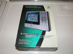 Logitech Harmony 1000 Advanced Touch Screen LCD Universal Remote