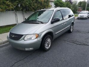 2003 Chrysler Town & Country limited Fourgonnette, fourgon
