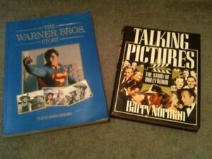 Pair of Interesting Hollywood Movie History Books Coogee Eastern Suburbs Preview