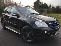 2007 07 Mercedes-Benz ML420 CDI SPORT 7G-Tronic Black, Genuine 124k